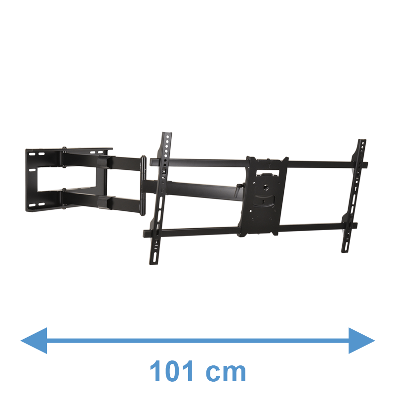 DQ Reach XXL 101 cm Supporto TV Nero